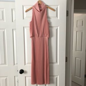 Babaton Dresses - Babaton Pleated Midi Dress Size XXS